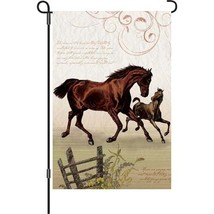 """All About Horses (12"""" x 18"""" Approx ) Garden Siz... - $11.99"""