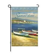 """Summertime Boats (12"""" x 18"""" Approx ) Garden Size Flag PR 560778 - $11.99"""