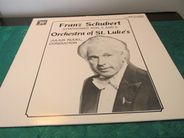 Franz Schubert Orchestra Of St. Luke's Symphonies No's 5 and 6 Record Album - $7.19