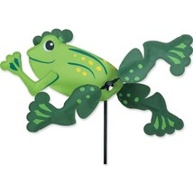 "Frog 13"" Staked Wind Whirl Wing Whirligig PR 21876 - $28.99"