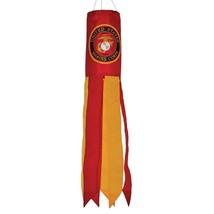 "U.S. Marine Corps Emblem 30"" Windsock ITB 4933 - $13.99"