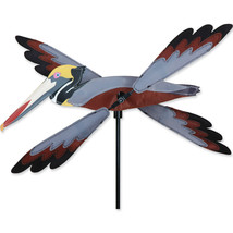 "Pelican Bird Staked Wind Whirl Wing Bird 16"" Wh... - $26.99"