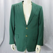 Loro Piana Custom Tailored Sports Coat Sz 42 Italy Gabardine Wool Super ... - $34.59 CAD