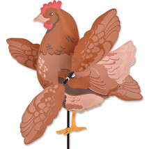 Buff Chicken Whirligig Wind Staked Wind Spinner... - $36.99