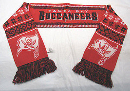 """Nwt Nfl 2016 Lodge (Ugly) Scarf 64"""" By 7"""" Tampa Bay Buccaneers - $28.95"""