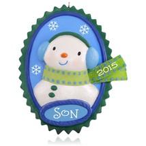 Cool Son 2015 Hallmark Keepsake Ornament - Snowman - Family - Boy - NIB - $9.89