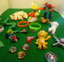 Toy Junk Drawer Lot of  20+ Pieces McDonald's T... - $4.00