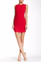 Sexy Red Bandage Cocktail Mini Dress BCBG MaxAzria Blakely Ruched Dress ... - $49.99