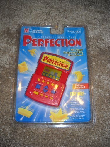 Electronic Hand-Held Perfection by Milton Bradley