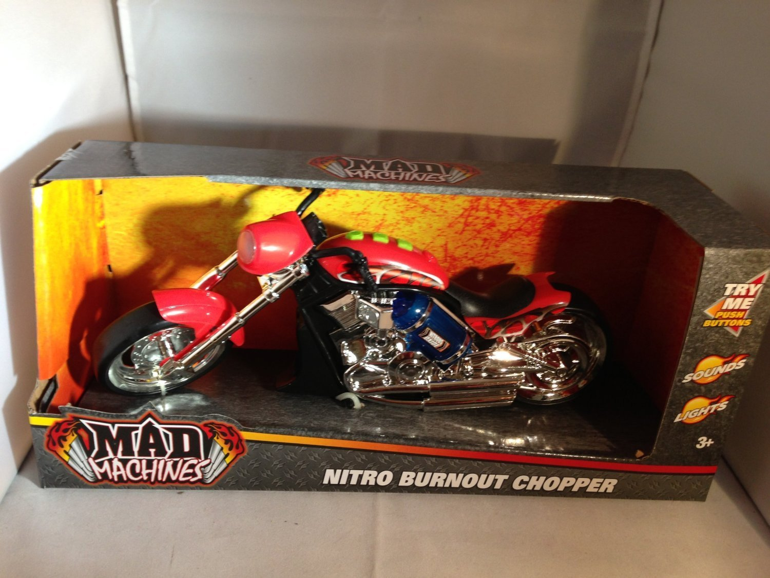 Mad Machines Nitro Burnout Chopper by Toystate