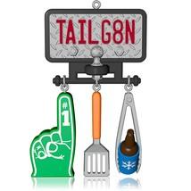 Tailgate Time - 2014 Hallmark Ornament - #1 Foam Finger Beer BBQ Footbal... - $5.92