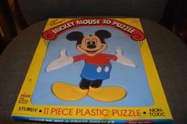 Scarce, Mickey Mouse 3D Puzzle, plastic, in ori... - $12.60