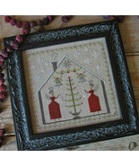 O Tannenbaum cross stitch chart Pineberry Lane  - $10.80