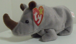 Ty Beanie Babies NWT Spike the Rhinoceros Retired - $9.95