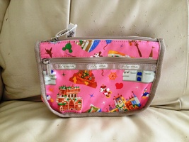 Lesportsac Disney Tokyo Disneyland Exclusive ~ Travel Cosmetic Case - $129.99