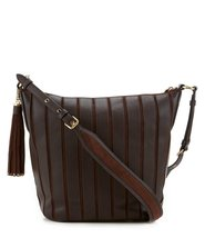 Michael Michael Kors Brooklyn Applique Leather Hobo, Brown - $414.81