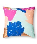 "Oh Joy! Decorative Pillow Gold 18"" X 18"" Bed Decor Painted Constellation... - $17.99"