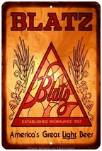 1970 Blatz Light Beer Vintage Look Reproduction... - $18.95