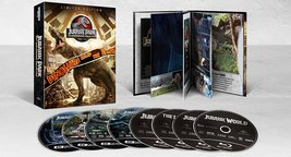Jurassic Park 25th Anniversary Collection 1 - 4 (4K Ultra HD + Blu-ray)