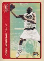 Glenn Robinson 2004-05 Fleer Tradition Red Parallel Card #97 - $0.99