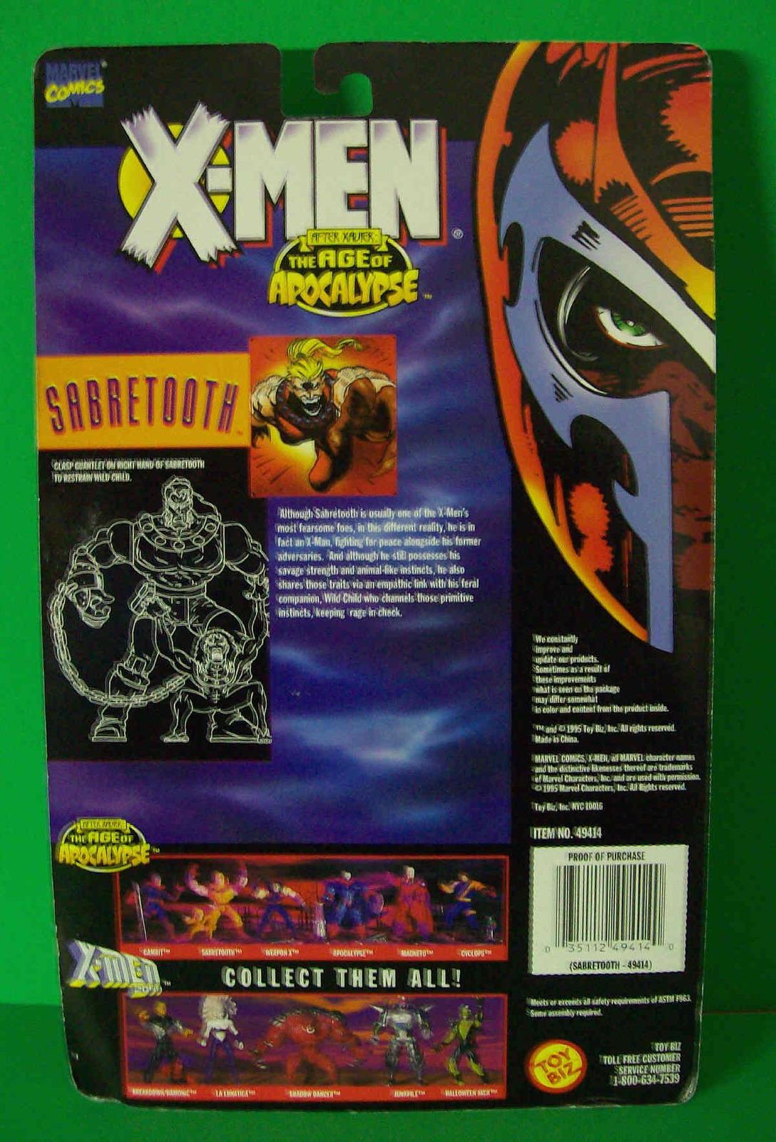 Sabertooth & Wild Child Age Of Apocalypse X-men 1995