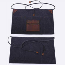 On Sale, Waxed Canvas Gardening Apron, Multifunction HandCrafted Apron, Waterpro image 6
