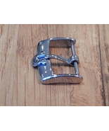 omega watch buckle 20 mm stainless steel / silver  - $12.00