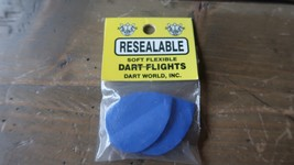 3 NEW Vintage Dart Flights Blue - $2.96