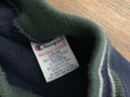 Champion Notre Dame Irish Sweatshirt sz L ND REVERSE WEAVE Green USA Exc 80-90s image 3
