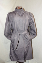 Vtg Stylish London Fog Woman's COAT Full Length Grey Winter Jacket Sz 10... - $89.09