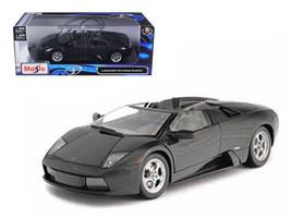 Lamborghini Murcielago Roadster Black 1/18 Diecast Model Car by Maisto - $70.99