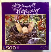 """Kathleen Francour Flitterbyes """"A Nesting Place"""" 500 pc Puzzle NEW & SEALED - $7.69"""