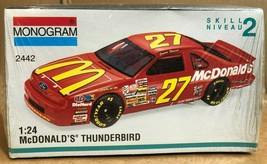 Monogram #27 McDonalds Thunderbird Model Kit #2442 1:24 Scale SKILL 2 * - $18.69