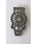 "Small Silver Tone Decorative Trivet 4 1/2"" x 3 1/4"" - $9.64"
