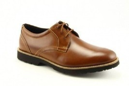 ROCKPORT MEN'S COGNAC LEATHER OXFORDS, V79657 - €67,26 EUR