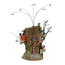 Department 56 Halloween Snow Village Miniature House 4056704 Dept 56 F33 - £511.53 GBP
