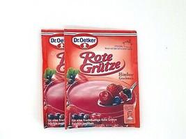 Dr.Oetker ROTE GRUTZE red fruit dessert 2ct - Made in Germany - $6.92