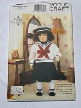 "Vogue Craft Pattern 8647 Linda Carr 18"" Doll & Outfit Plus Color Transfe... - $12.86"