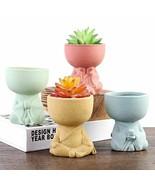 Creative Little Buddha Flower Pots Miniature Home Decoration Accessories... - $14.23