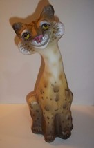 Fenton Glass Natural Leopard Alley Cat #10/13 Made! Limited Ed GSE JK Sp... - $319.62