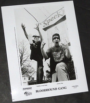 BLOODHOUND GANG Orig Vintage Promotional PHOTO 8x10 1995 Underdog Cheese... - $8.99