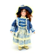 Vintage Barb Corning Victorian Style Porcelain Collectible Doll Stand In... - $63.35