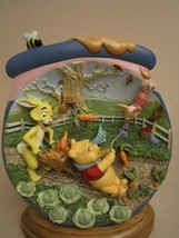 HAPPY WINDSDAY 3-D Collector Plate POOH'S HUNNYPOT ADVENTURES #5 WINNIE ... - $44.95
