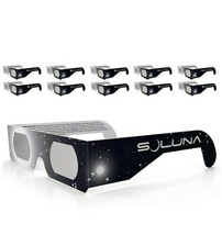 Soluna Solar Eclipse Glasses - CE and ISO Certified Safe Shades for Dire... - $11.99