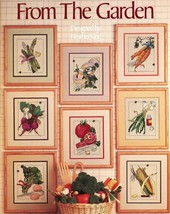 From the Garden for Counted Cross Stitch Leaflet 413 1986 Vegetables - $3.95