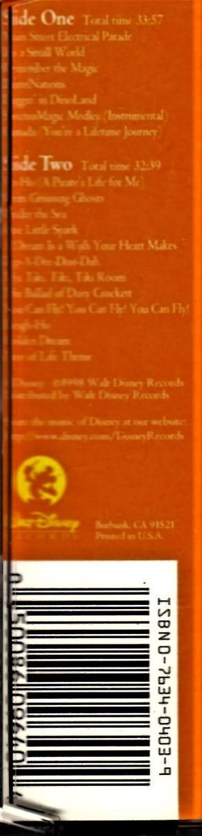 "Walt Disney World  'The Official Album"" image 5"