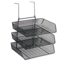 Fellowes Mesh Partition Additions Triple Tray, ... - $23.36