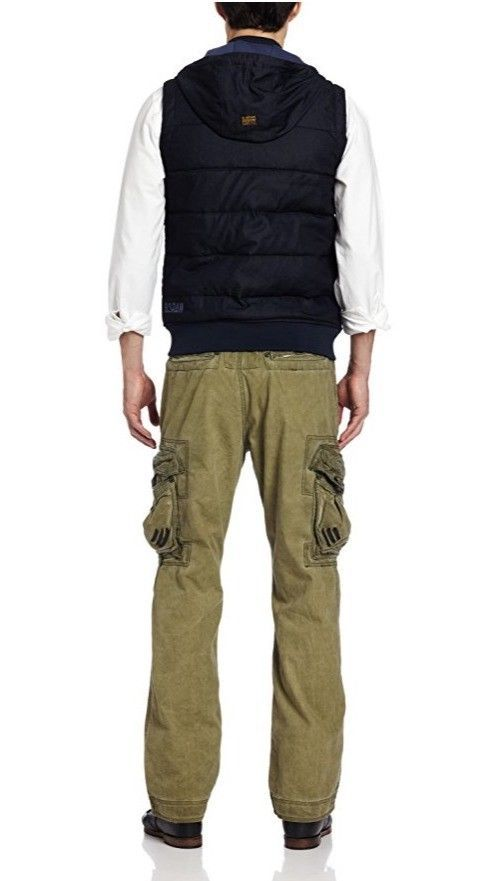 G Star Raw Men's RS Denim Vest, Raw, XX-Large BNWT $240 image 3