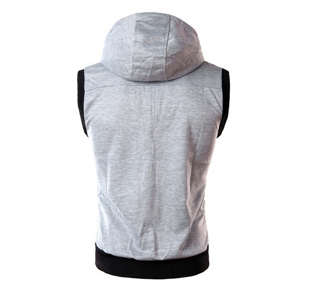 2018 Fashon New Sleeveless Hoodies Clothing Men, Outerwear Hoodies Men,Boys Spor
