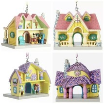 Disney Parks Set Of Mickey Mouse And Minnie Mouse Toontown House Ornamen... - $64.95